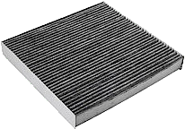 An activated-charcoal cabin air filter.