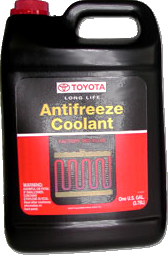 Toyota Pink/Red Antifreeze