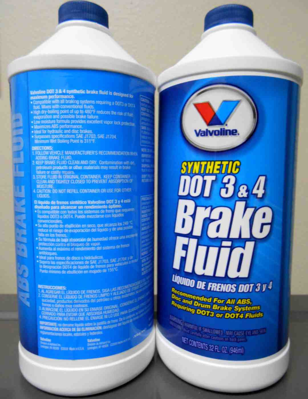 Valvoline DOT3/DOT4 Brake Fluid