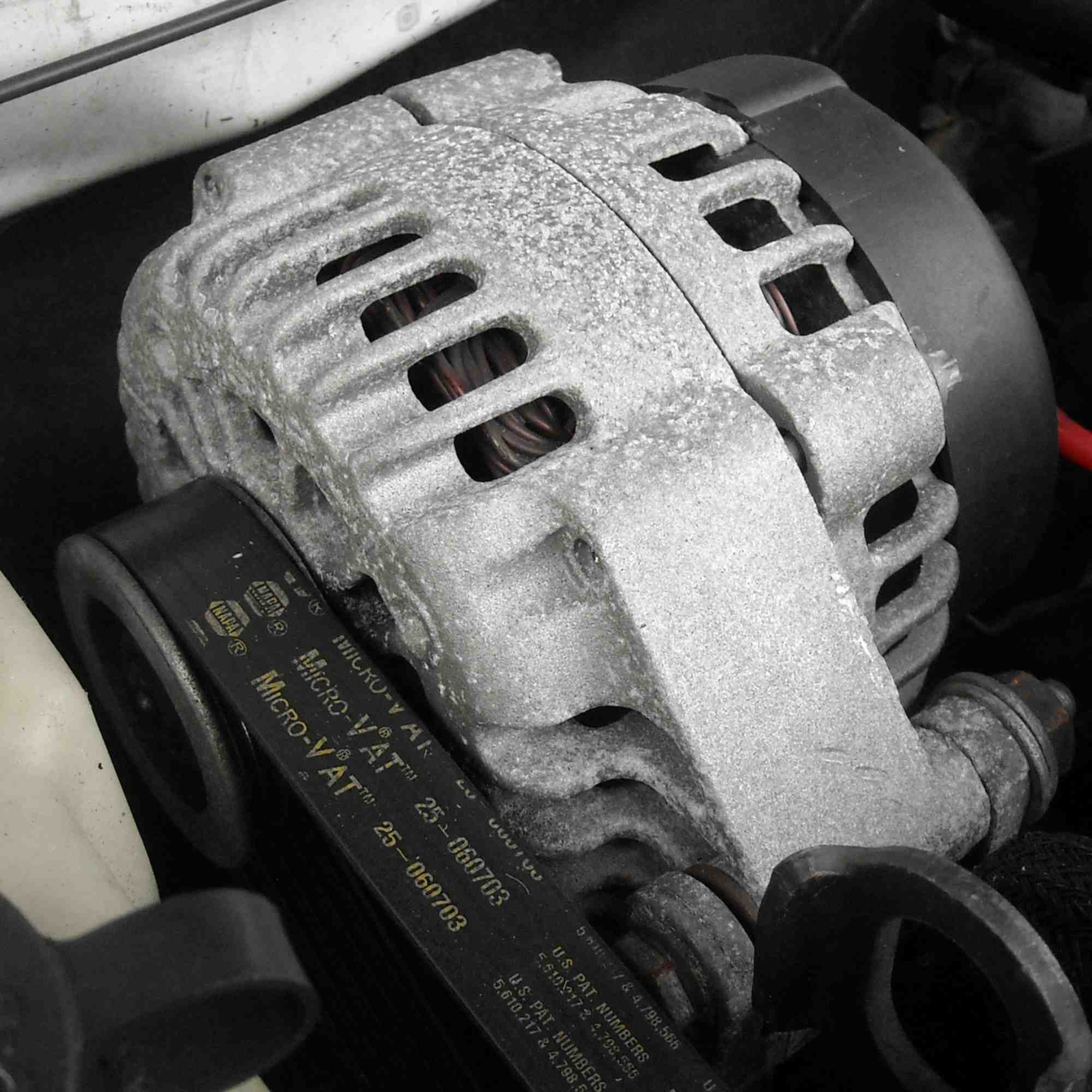 A used GM/AC Delco Alternator