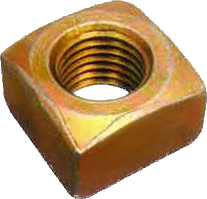Square Brass Nut