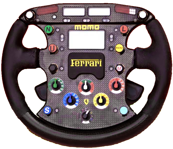 A Ferrari/Momo Steering Wheel