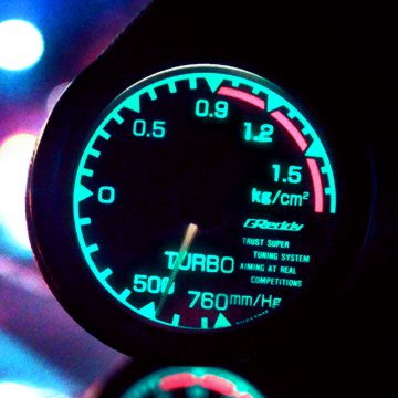 A GReddy Turbo Boost Guage