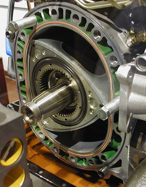 Inside a Wankel Engine