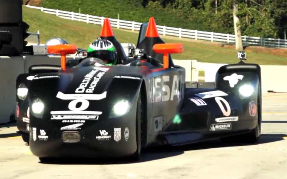 Delta Wing Race Car