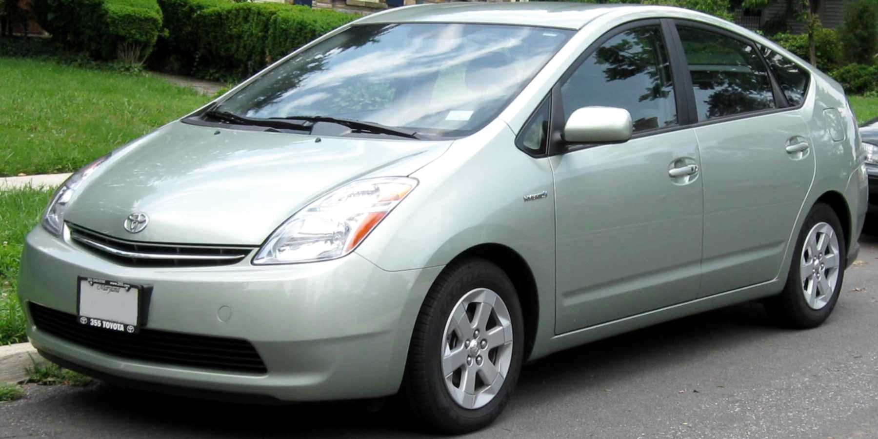 The second generation Toyota Prius