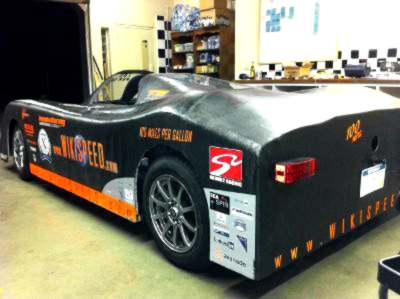 Wikispeed Prototype Rear View